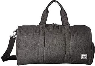 ea0647952b Herschel Novel Mid-Volume Duffel Bag Black Crosshatch One Size