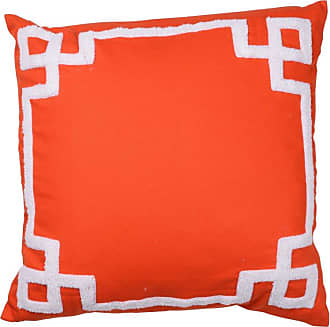 A & B Home 18 in. Embroidered Pillow - T41032