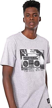 Starter Camiseta Starter Rap City Cinza
