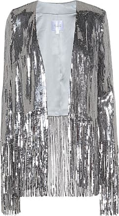 Galvan Stardust sequined fringe jacket