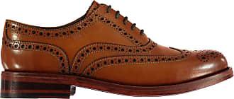 Firetrap Mens Blackseal Highbury Shoes Dark Tan UK 10 (44)