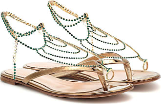 Gianvito Rossi Serena Flat leather sandals