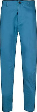Department 5 Calça de alfaiataria slim - Azul