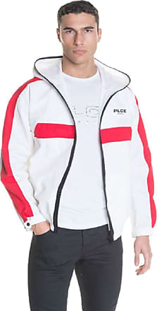 883 Police Eliean Mens Off-White Jacket (XL)