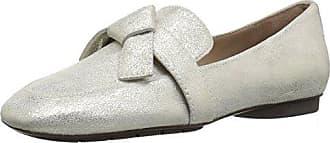 Donald J Pliner Womens Deane-T8 Loafer Flat, Platino, 6.5 B US