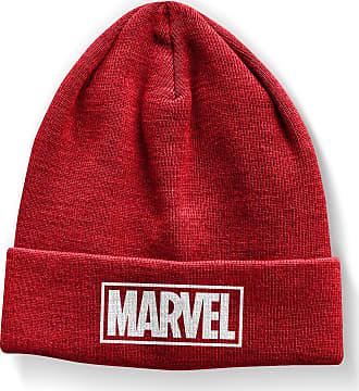 MARVEL Officially Licensed Merchandise Marvel Red Logo Beanie (Red)