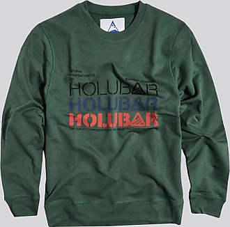 HOLUBAR felpa triple logo bf12 verde