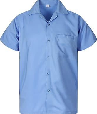 V.H.O. Funky Hawaiian Shirt, Blanc, Light Blue, XXL