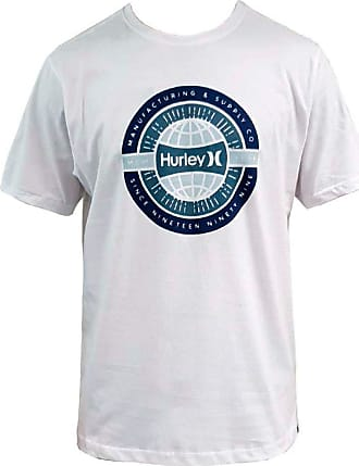 Hurley Camiseta Hurley Silk Worldwide Branca GG