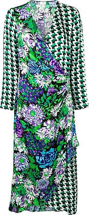 Rixo Vestido estampado - Verde