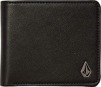Volcom Slim Stone S - Men Wallet - Black