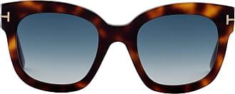 Tom Ford Eyewear Óculos de Sol Gatinho Tartaruga - Mulher - Marrom - 52 US