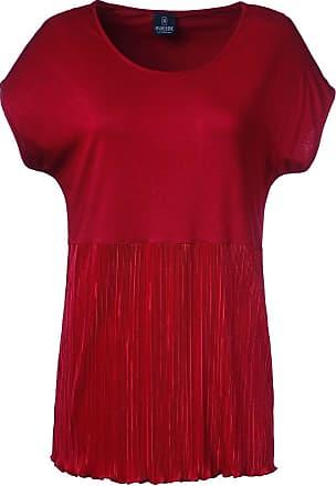 Madeleine Shirt in rot MADELEINE Gr 34, kirschrot für Damen. Polyester. Waschbar