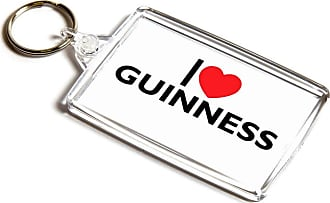 ILoveGifts KEYRING - I Love Guinness - Novelty Food & Drink Gift