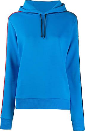 Rossignol striped-side hooded sweatshirt - Blue