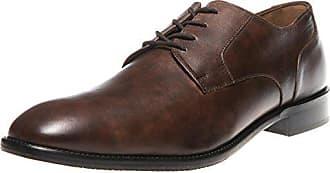 533d2b2f578556 Manz Business Schuhe in Übergrößen Braun 141022-02 große Herrenschuhe