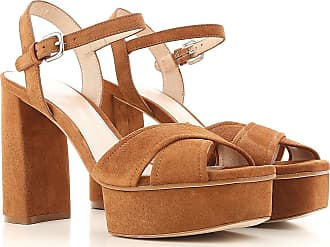 Stuart Weitzman Sandals for Women On Sale in Outlet, Saddle Brown, Suede leather, 2017, US 7.5 (EU 38) US 6.5 (EU 37) US 8 (EU 38.5) US 8.5 (EU 39) US 9 (EU 39.5) US 7 (EU 37.5) US 9.5 (EU 40)
