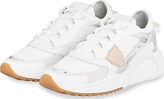 Philippe Model Plateau-Sneaker EZE - WEISS/ SILBER