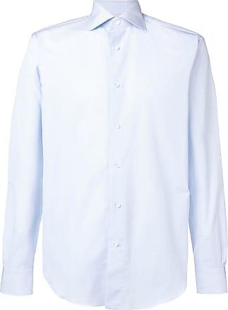 Brioni Camisa de alfaiataria - Azul