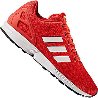 985caa7c740593 adidas Unisex-Kinder Zx Flux J Fitnessschuhe Rot (Rojbas Ftwbla Negbas)