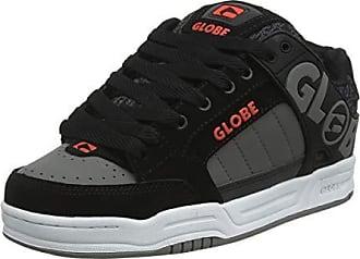 new product 66ced 1ca47 Globe Tilt Scarpe da Skateboard Bambino, Multicolore (Black Red Grey Knit  000