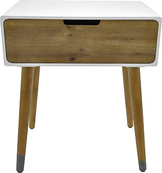 Three Hands Side Table With 1 Drawer - 59865