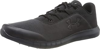 Under Armour Men UA Mojo Fast-Drying Running and Gym Shoes for Men, Black, 6.5 UK 40.5
