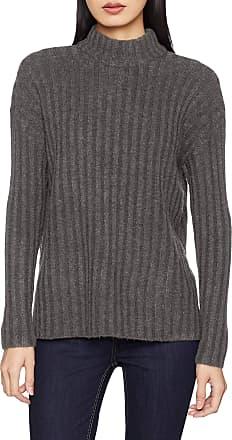 Pieces Womens Pcsanni Ls Wool Knit Noos Jumper, Grey (Dark Grey Melange Dark Grey Melange), 8 (Size: X-Small)