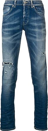 Dondup distressed skinny jeans - Azul