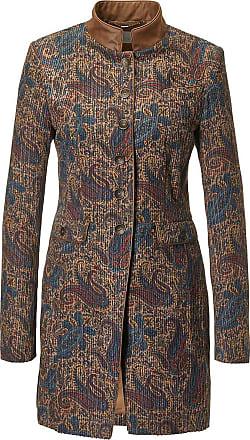 Madeleine Cord-Gehrock mit Paisley-Muster in blau MADELEINE Gr 34, multicolor für Damen. Polyester. Reinigung