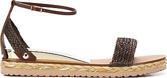 Casadei Sandália de couro - Marrom