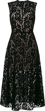 Christopher Kane Vestido com renda - Preto