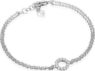 Sif Jakobs Jewellery Bracelet Biella Piccolo with white zirconia