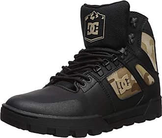 DC Mens Pure High-Top WR Ankle Boot, Black camo, 14 D M US