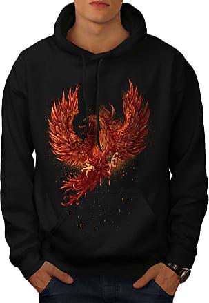 Hawk Casual Jumper wellcoda Eagle Head Old Vintage Mens Sweatshirt