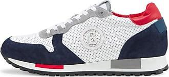Bogner Livigno Sneakers for Men - Navy blue/White/Red