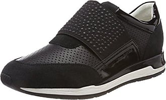 Geox Sukie a, Zapatillas Para Mujer, Negro (BLACKC9999), 39
