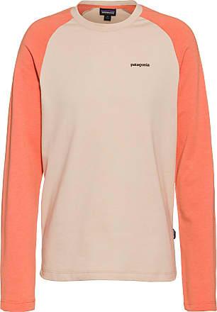 Patagonia P-6 Logo Sweatshirt Herren in pumice, Größe XXL
