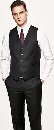 Hackett Mens Plain Wool Waistcoat | Size 40Regular | Charcoal