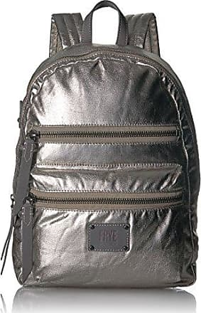 Frye Ivy Nylon Backpack, Pewter, One Size