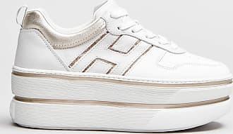 Rabaini Hogan - Sneakers dettagli platino - Bianco