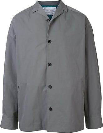 Kolor oversized buttoned shirt jacket - Grey