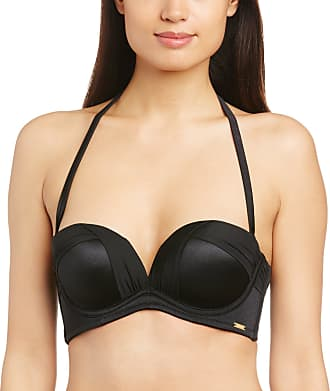 Gossard Womens Sienna Strapless Bikini Top, Black, 32D