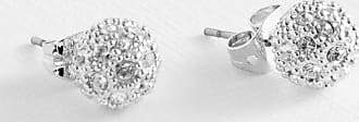 Ted Baker Pave Ball Swarovski Crystal Stud Earrings in Silver Colour PAVLY, Womens Accessories