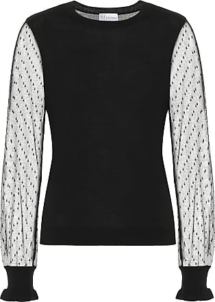 Red Valentino Wool and silk sweater