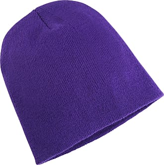Yupoong Flexfit Unisex Heavyweight Long Beanie Winter Hat (One Size) (Purple)