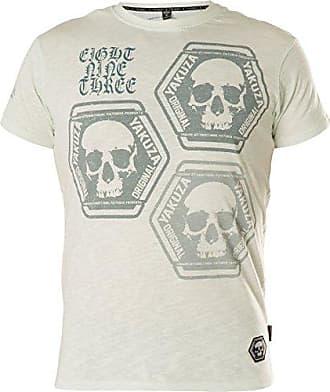 Neues Yakuza Herren Skull Collection T-Shirt Spa Blue
