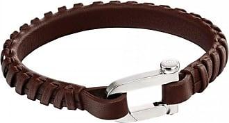 Acotis Limited Fred Bennett Buckle Clasp Brown Bracelet B5128