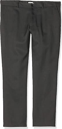 Farah Mens Roachman Trousers, Grey (Charcoal), X-Large (Manufacturer Size:38/31)