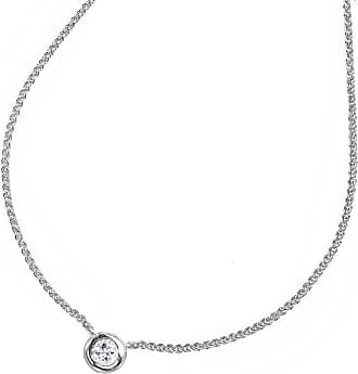 Dower & Hall White Sapphire Round Twinkle Pendant